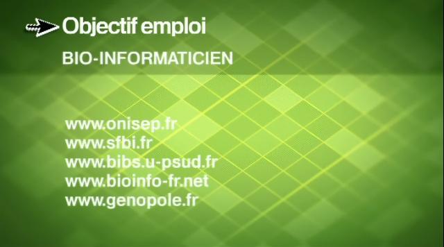 """Bioinfo-fr.net participe à """"L'emploi sur le net"""" de France 5 (capture d'écran)"""