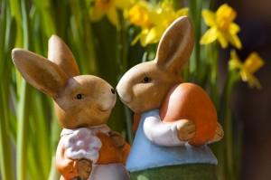 Lapins de Pâques par stux | CC0 1.0