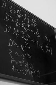 Einstein's blackboard | garrettc